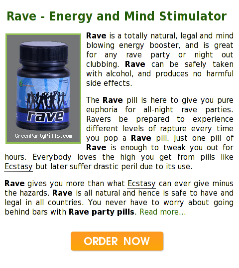 Rave Party Pills