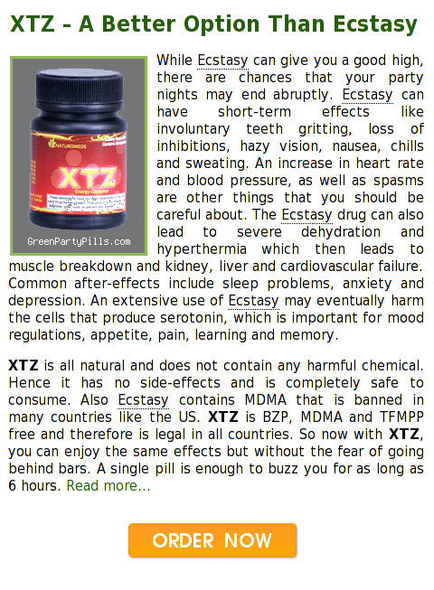 XTZ Party Pills - Herbal Ecstasy Substitute